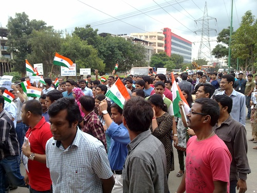 IAC_campaign_in_Whitefield,_Bangalore_on_19th_August